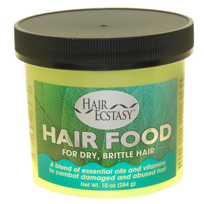Hair Food 10oz Jar W/Vitamin E